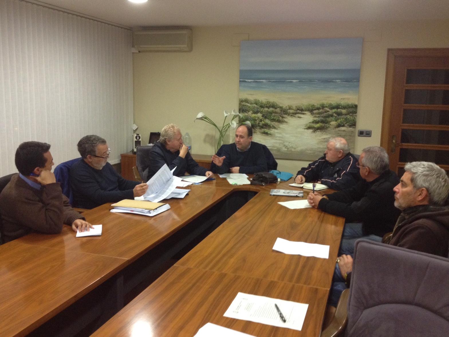 Reunión de coordinación de la ONG castellonense