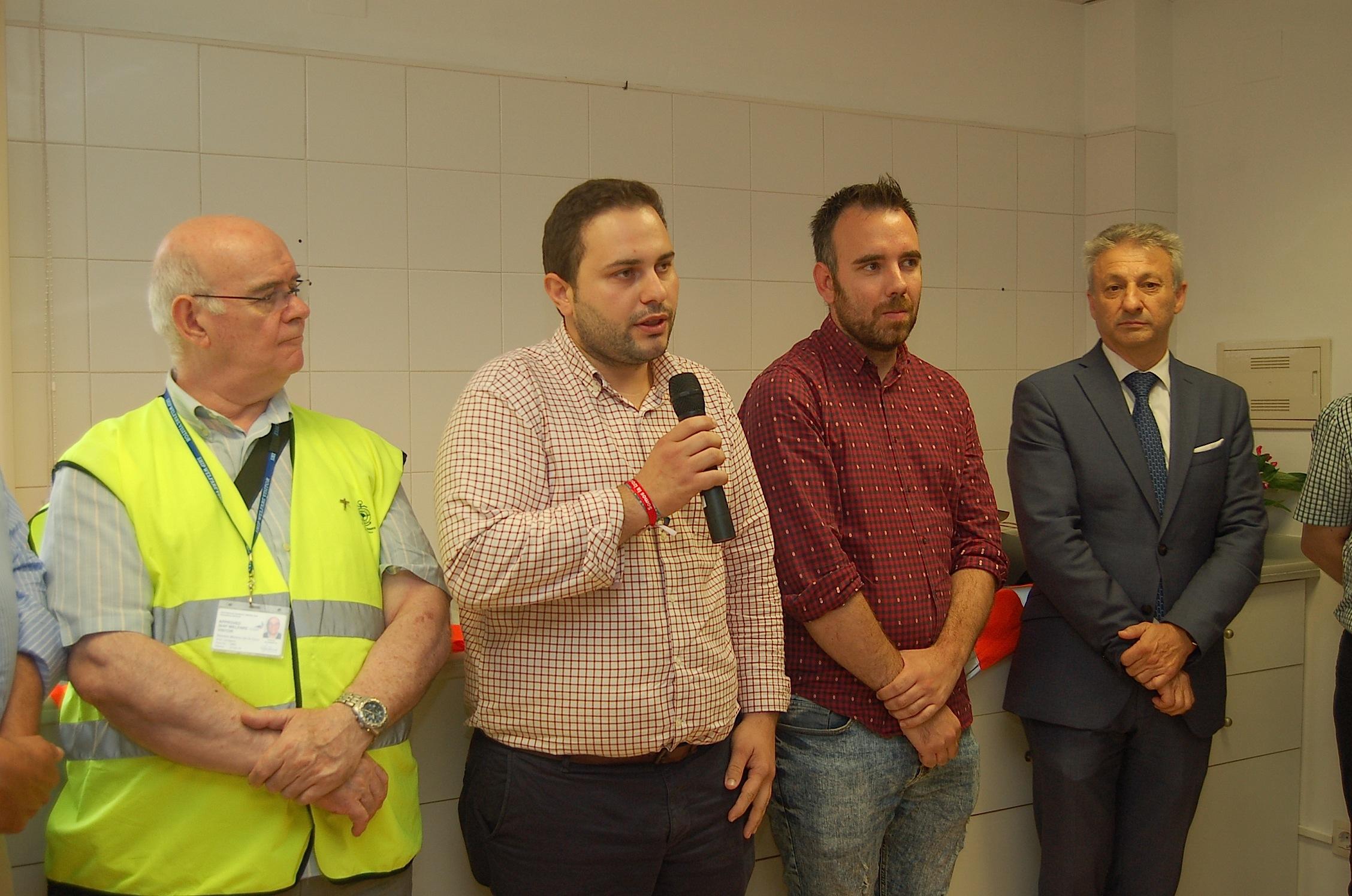 Intervención de concejal de Bienestar Social del Ayuntamiento de Castellón